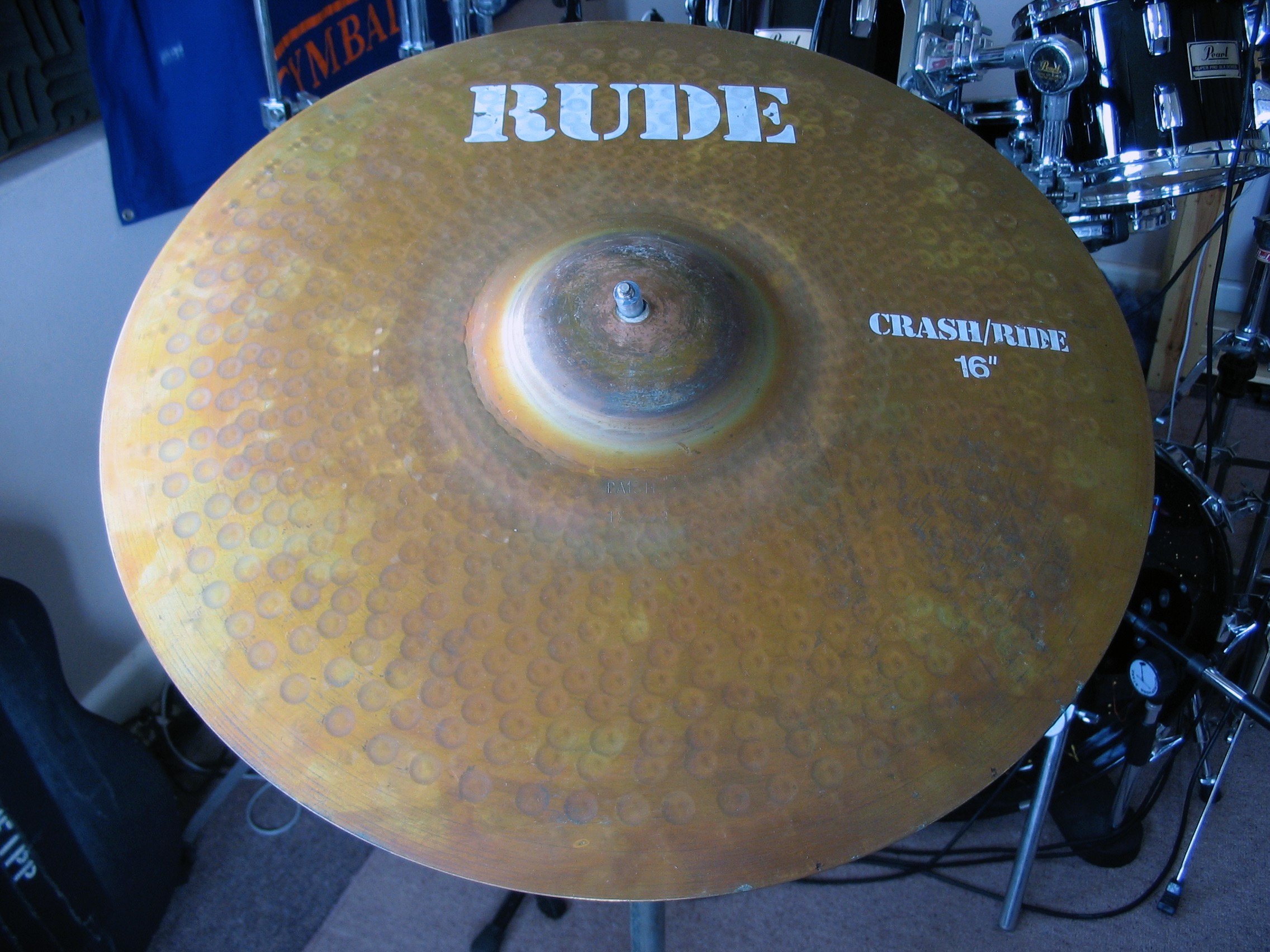 RUDE Crash/Ride 16""
