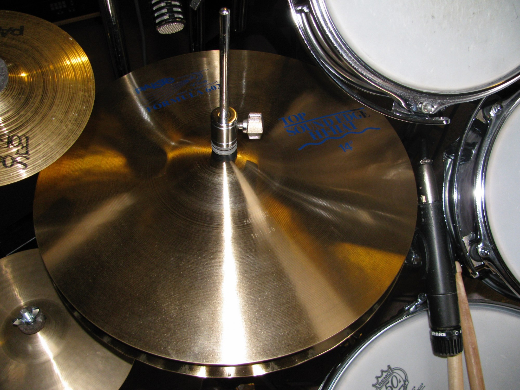 602 Sound Edge Hi-Hats 14""
