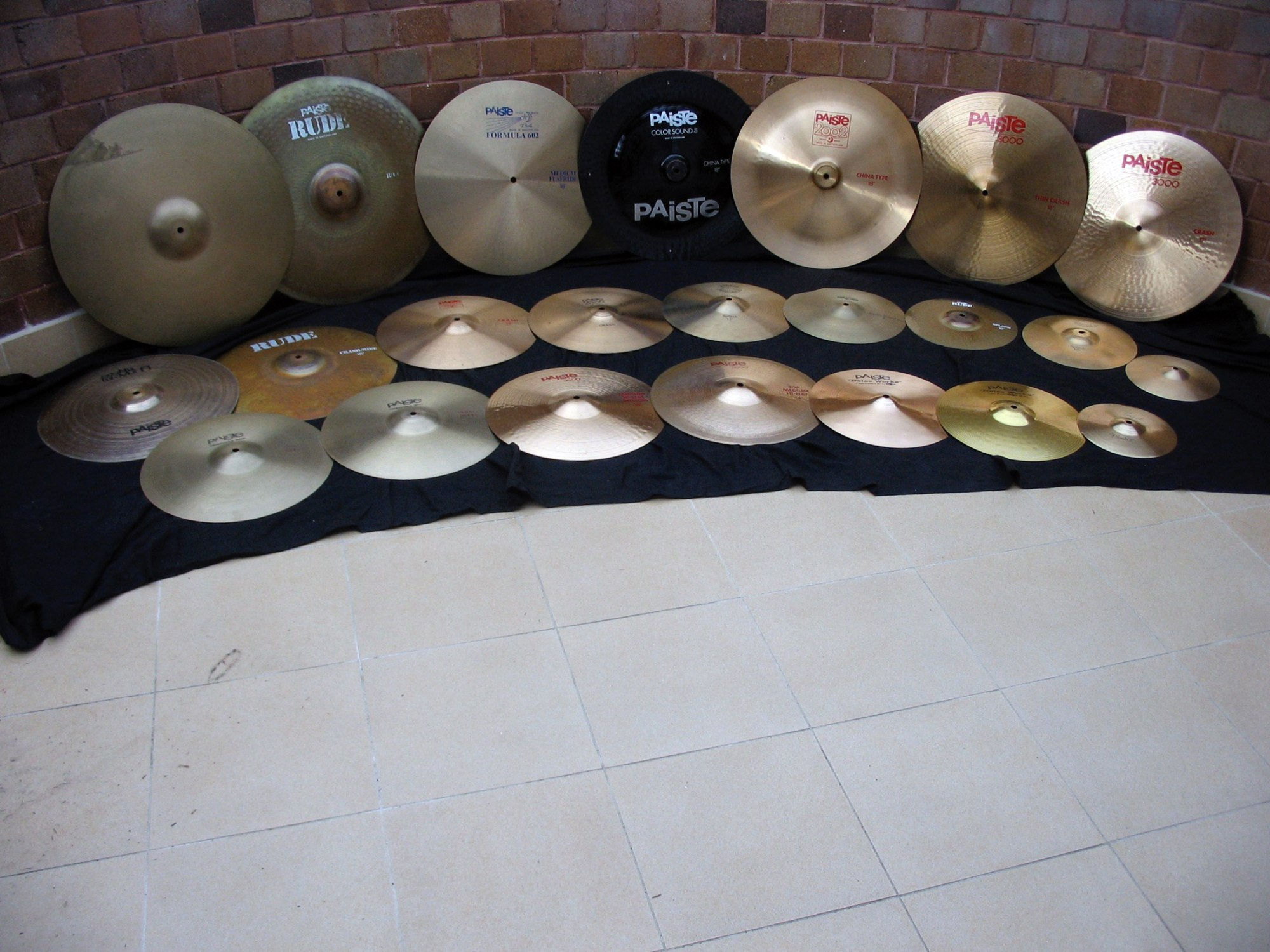 Paiste collection 2006