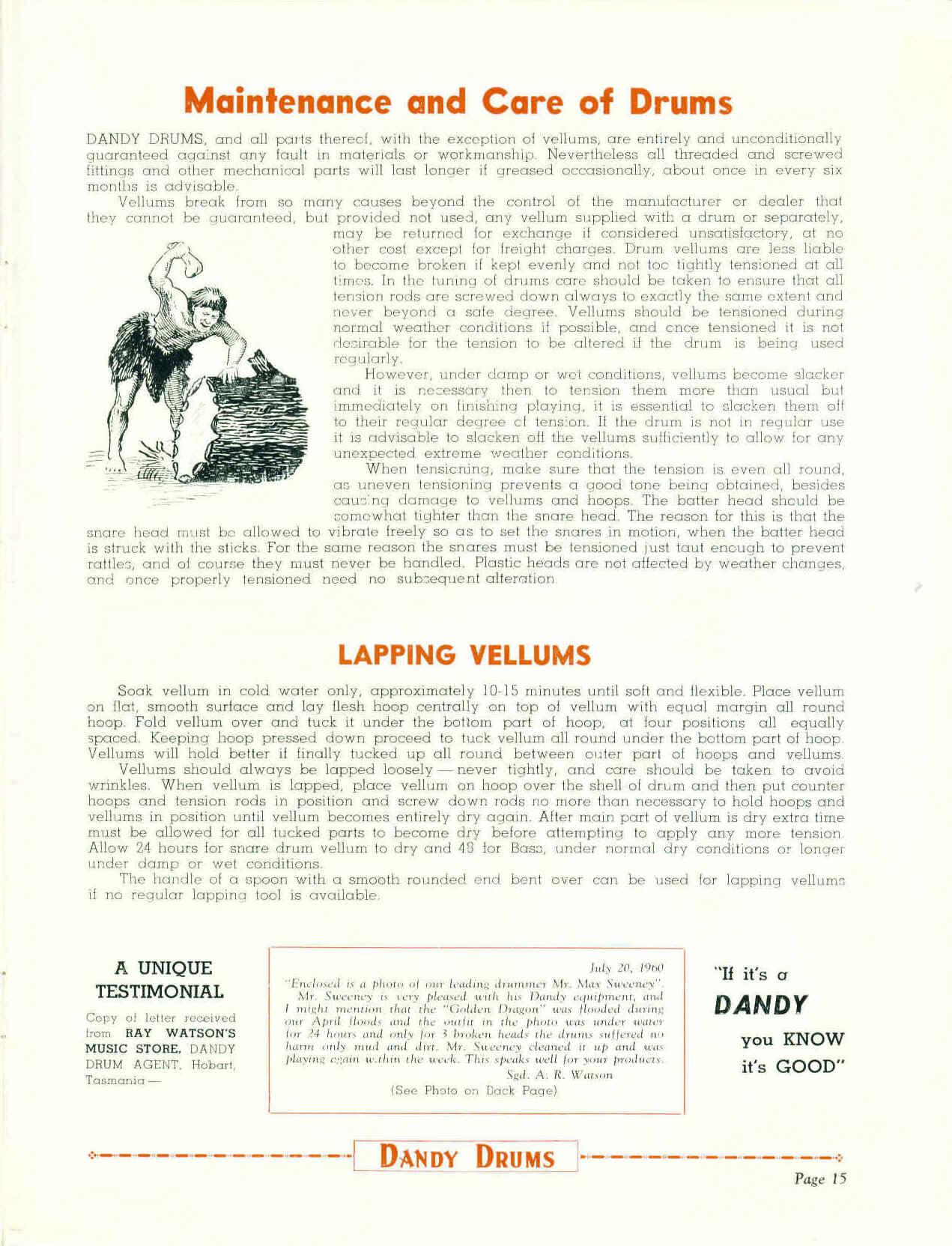 Dandy Catalogue - 16