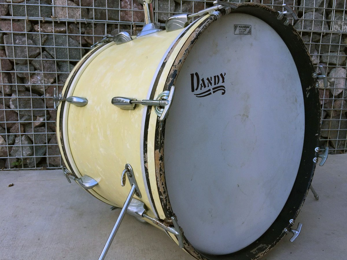 Dandy bass drum wmp