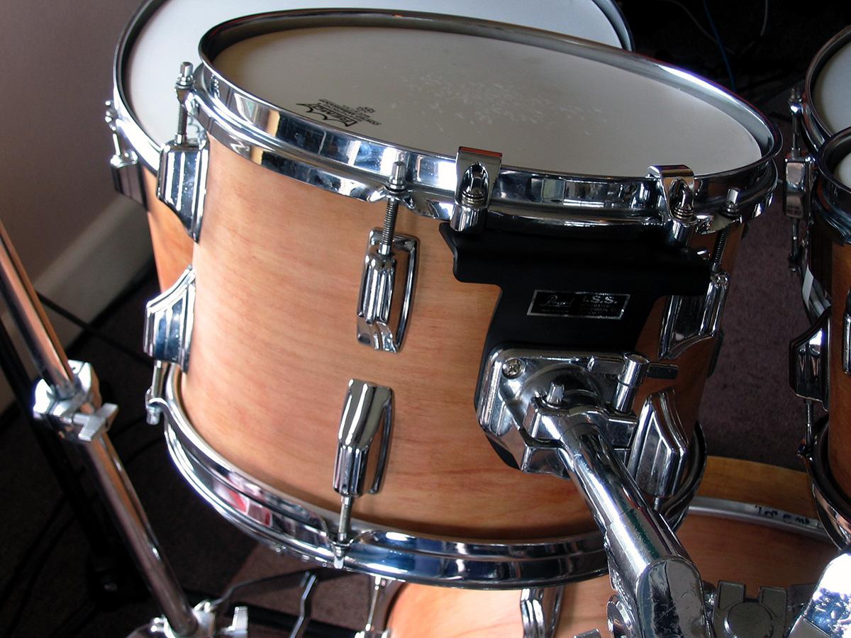 Rogers kit in the studio.