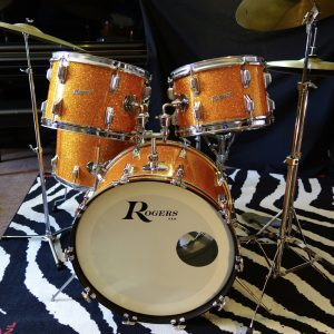Gold Rogers drums